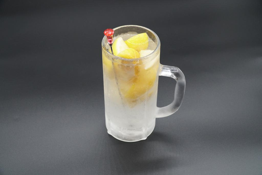 凍った生レモンサワー